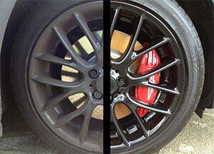 Cleaners For Alloy Wheels before after