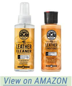 Chemical Guys Leather Cleaner and Conditioner Complete Leather Care Kit