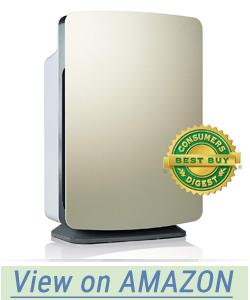 Alen BreatheSmart Classic Large Room Air Purifier with HEPA Filter for Pet