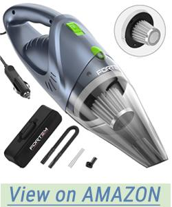Car Vacuum Cleaner FORTEM (120W) - 4500 Pa Suction Power - DC 12 Volt