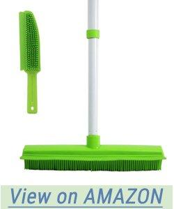 Gloyy Push Broom With Small Brush