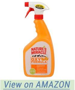 Natures Miracle Dog Stain And Odor Remover