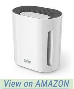 PureZone 3-in-1 True HEPA Air Purifier 3 Speeds Plus UV-C Air Sanitizer
