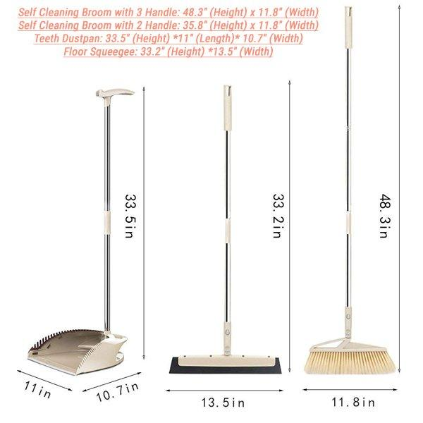 SLC Broom and Dustpan