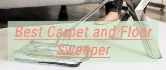 Best Carpet and Floor Sweeper mini