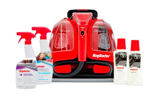 Portable Spot Cleaner Machine and Auto Care Pack