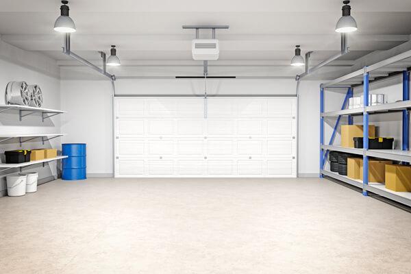 clean floor garage