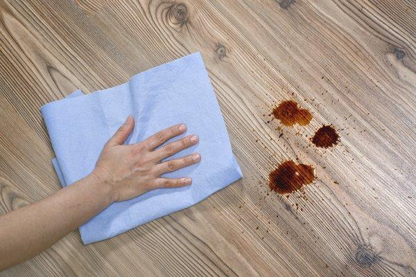 stains on Laminate Floors