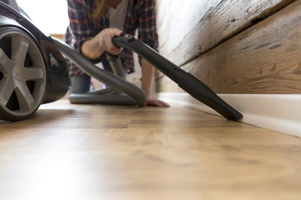 vacuum your vinil flooring