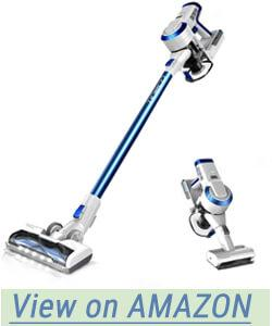 tineco A10 Hero Cordless Stick Vacuum Cleaner Lightweight 350W Digital Motor Lithium Battery and LED Brush