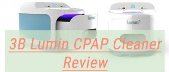3B Lumin CPAP Cleaner Review