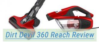 Dirt Devil Vacuum Cleaner 360 Reach Pro mini