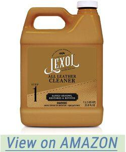 Lexol Leather Cleaner in the 1 Liter Size