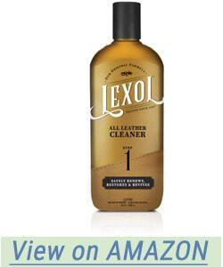 Lexol Leather Cleaner in the 16.9 ounce size bottle